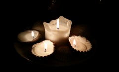 Candles... for their soft light, for their soothing presence, occasionally for their scent